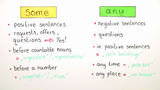 Quantifiers: some and any (Übungsvideo)
