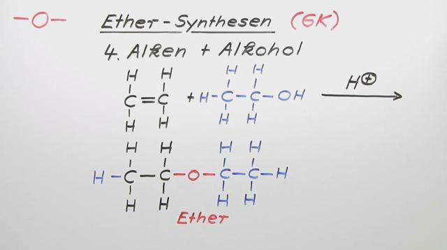 Ether – Synthese (Vertiefungswissen)