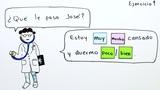 Übung zu den ursprünglichen Adverbien: mucho, poco, muy und bien