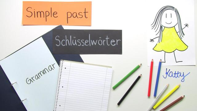 Simple Past – Schlüsselwörter
