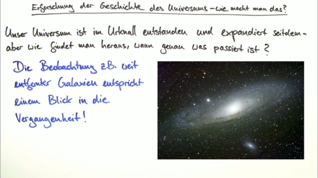 Urknall und Geschichte des Universums