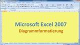 Lektion 13 Excel 2007 Diagrammformatierung