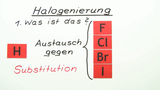 Halogenierung