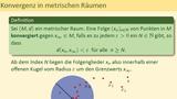 Metrische Räume (Teil 3 von 3) - Offene und abgeschlossene Mengen