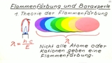 Flammenfärbung und Boraxperle