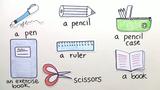 School Things – Vokabeln zu Schulsachen