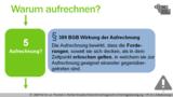 VR 7.1.6 Welche Beendigungsalternativen gibt es beim Vertrag? Bedeutung 2