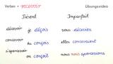 Unregelmäßige Verben auf -oir – Bildung (Übungsvideo)
