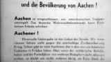 Kapitulation von Aachen