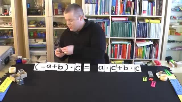 Distributivgesetz mit negativen Zahlen (2)