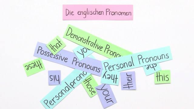 Pronouns: personal, possessive, demonstrative