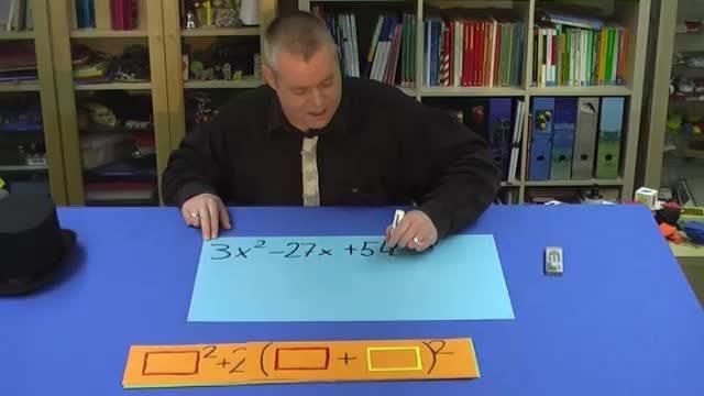 Quadratische Gleichungen mit binomischen Formel lösen (1)