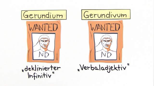Gerundium und Gerundivum (Übungsvideo)