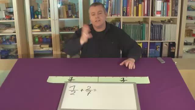 Brüche addieren (Übungsvideo 5)