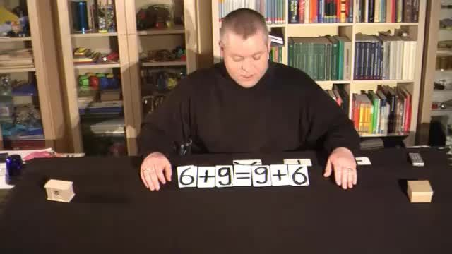 Kommutativgesetz mit negativen Zahlen
