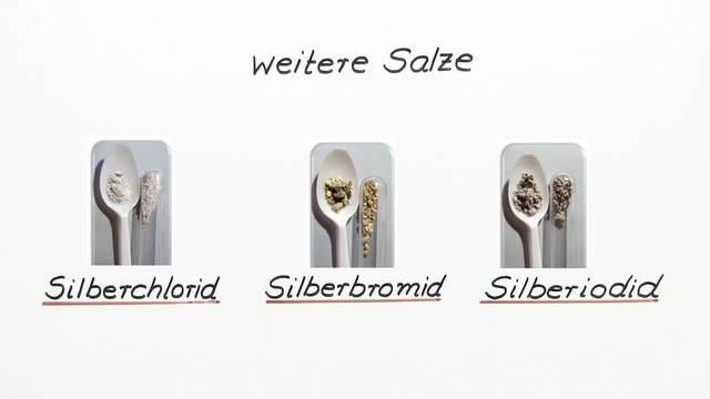 Silberhalogenide