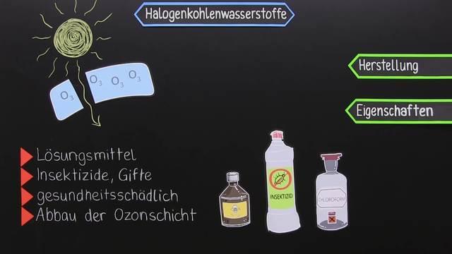 Halogenkohlenwasserstoffe – Einführung am Beispiel der Chlorkohlenwasserstoffe