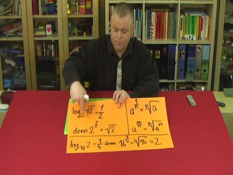 Logarithmus – Rationale Exponenten (2)