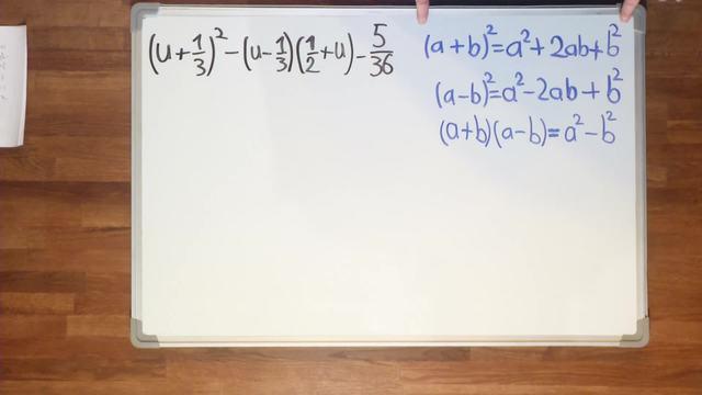 Binomische Formeln – Übung (6)