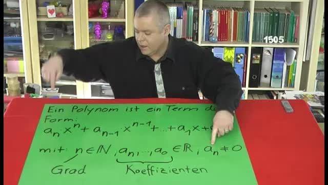 Polynom – Definition