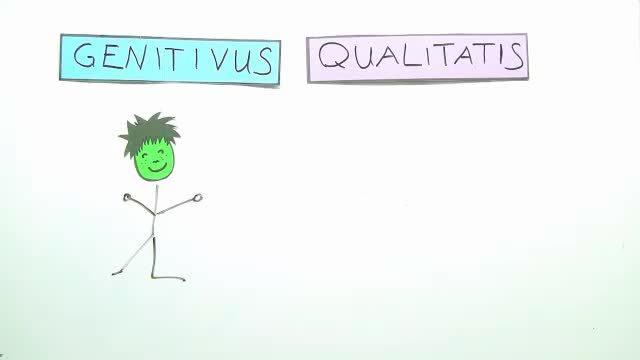 Genitivus und Ablativus qualitatis