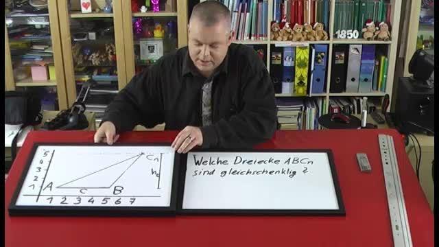 Dreiecksscharen im Koordinatensystem (3)