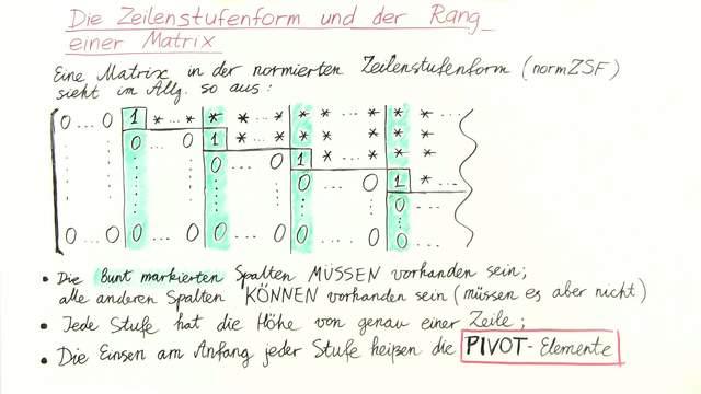 kap1 theorie 1 die zeilenstufenform und der rang einer. Black Bedroom Furniture Sets. Home Design Ideas