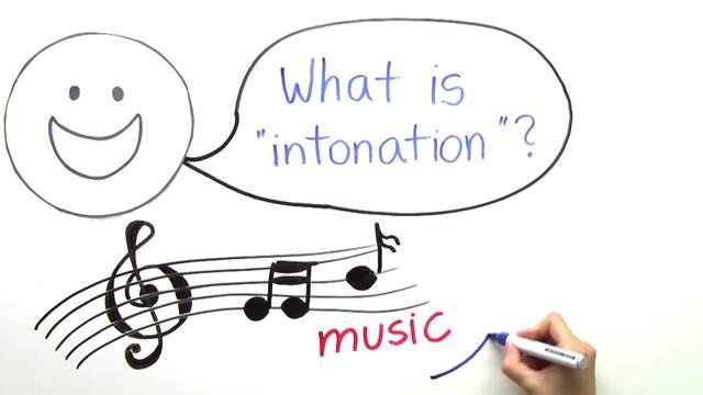 Pronunciation – Intonation