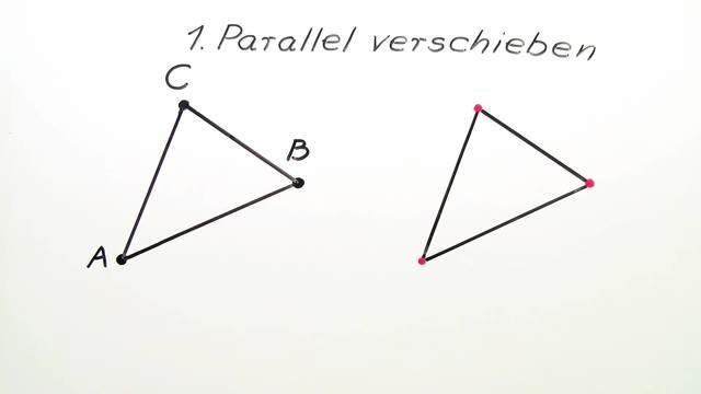 Parallelverschiebung von Figuren